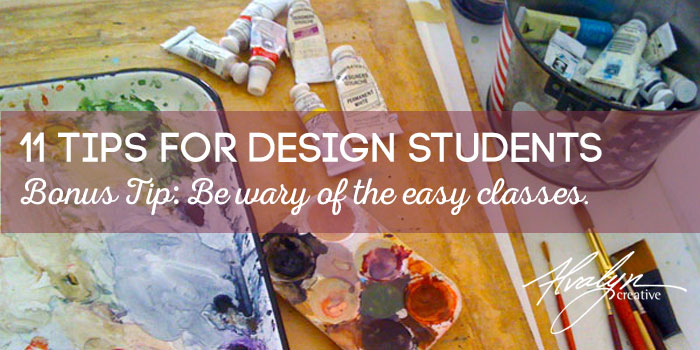 Advice for Design Students