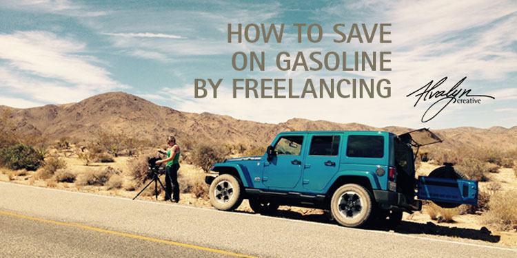 How to Save on Gasoline by Freelancing