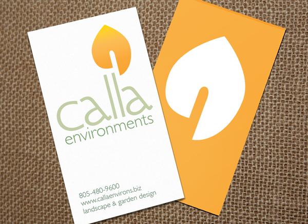 calla environments identity by Alvalyn Lundgren