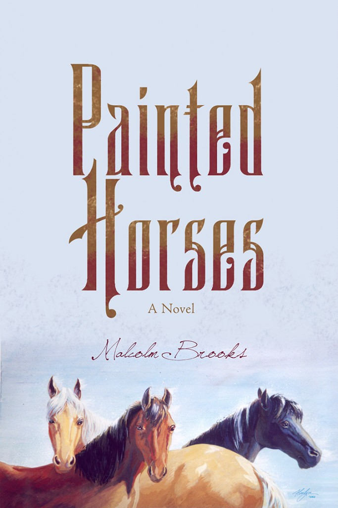 Painted Horses Trade Book Illustration and Cover Design by Alvalyn Lundgren