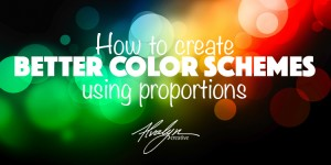 Create Better Color Schemes By Using Proportions
