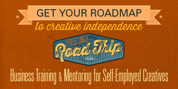 I'll teach you how to freelance successfully. Join my Freelance Road Trip online course today!