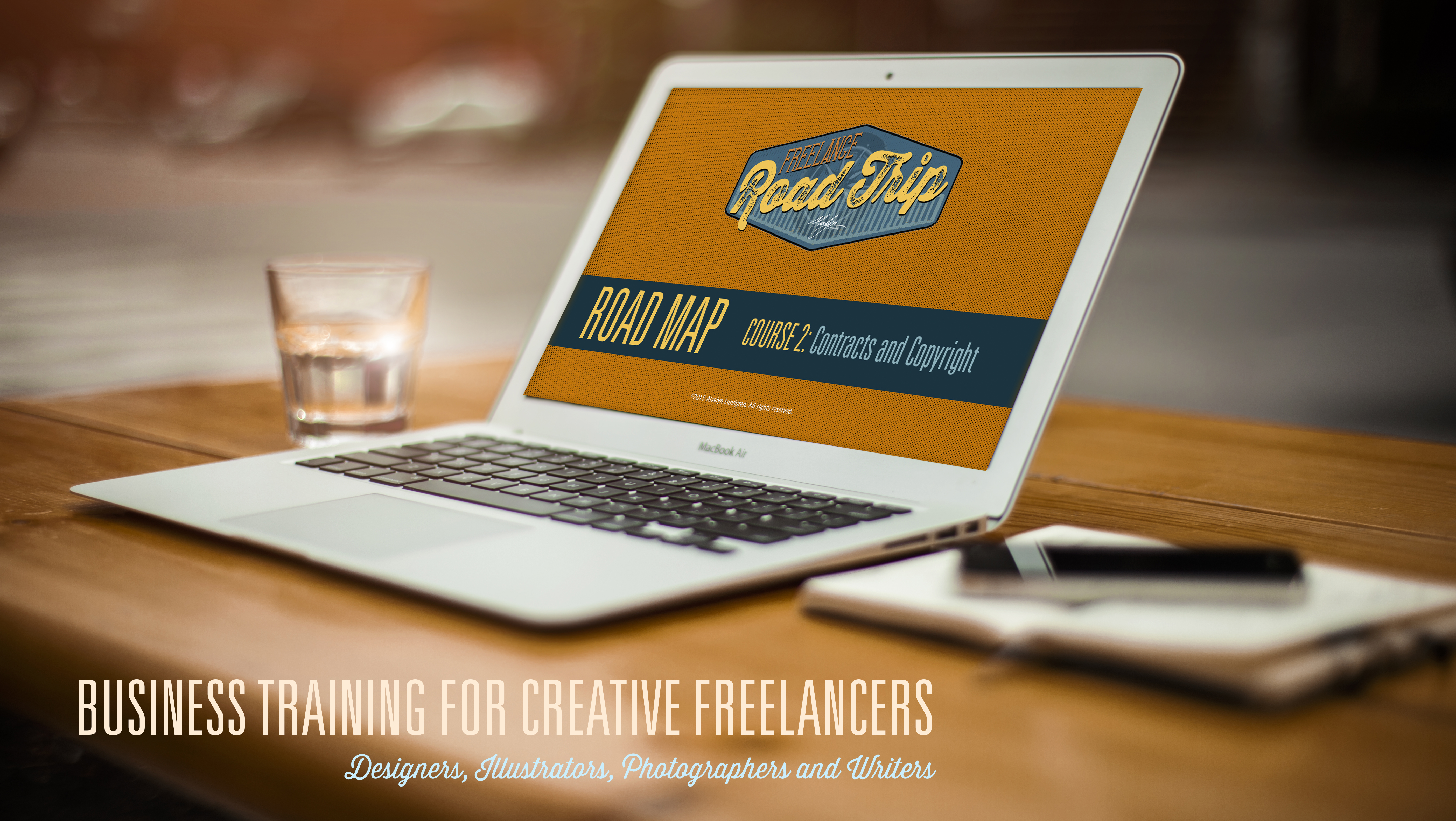 Freelance Road Trip Business Training for Independent Creatives