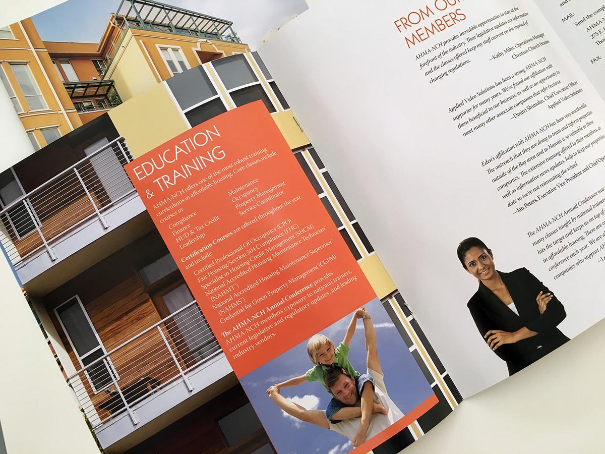 AHMA-NCH brochure by Alvalyn Lundgren