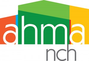 AHMA-NCH logo designed by Alvalyn Lundgren