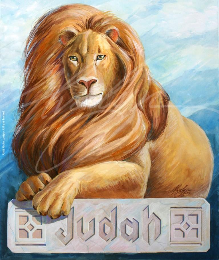 Lion of Judah ©2009 Alvalyn Lundgren. All rights reserved.