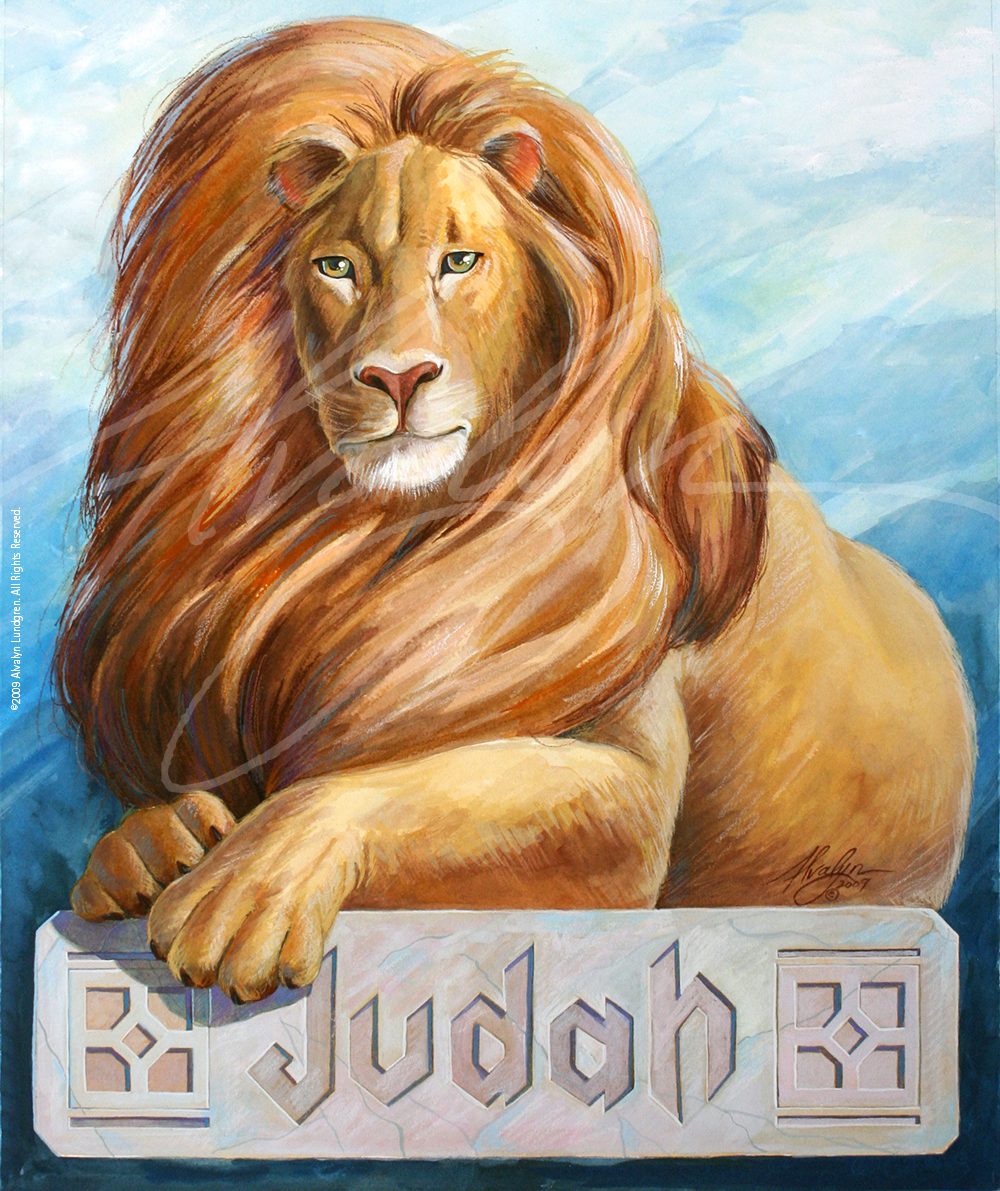 Lion of Judah ©2009 Alvalyn Lundgren. All rights reserved.