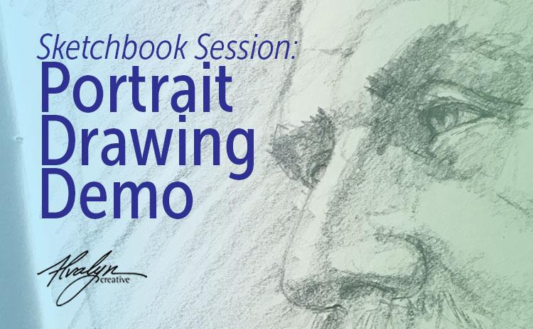 Sketchbook Demo: Portrait Drawing