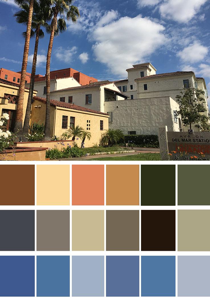 how to create a chromatic colour scheme