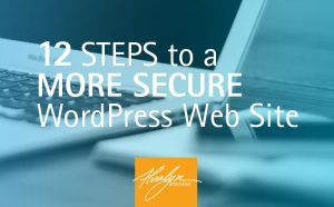 12 Steps To A More Secure WordPress Web Site