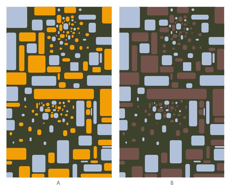 Bezold Effect pattern study