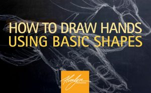 How to Draw Hands Using Basic Shapes
