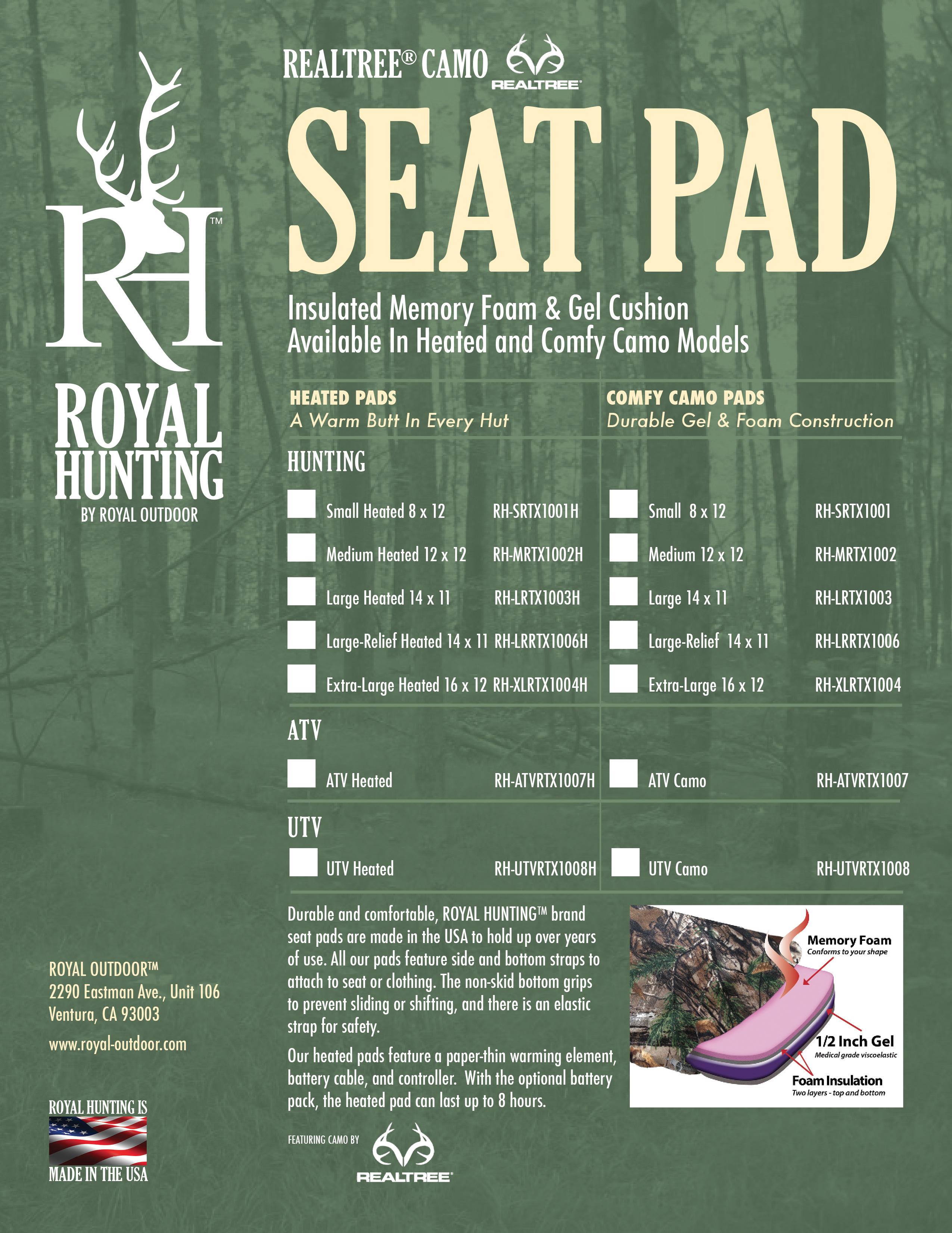 Royal Hunting Product Insert