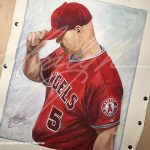 Number 5: Portrait of Albert Pujols, Angels MLB