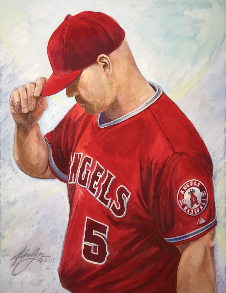5 Portrait of Albert Pujols © Alvalyn Lundgren