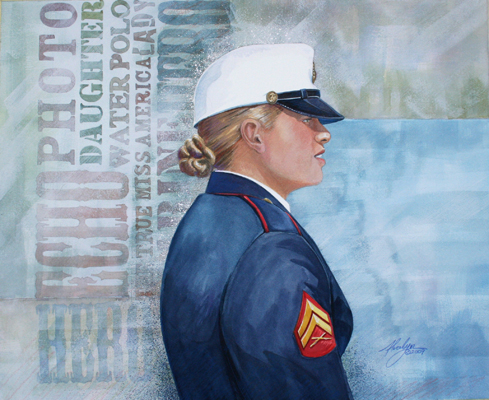 Dress Blues by Alvalyn Lundgren
