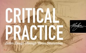 critical practice using degas' duranty portrait with Alvalyn Lundgren