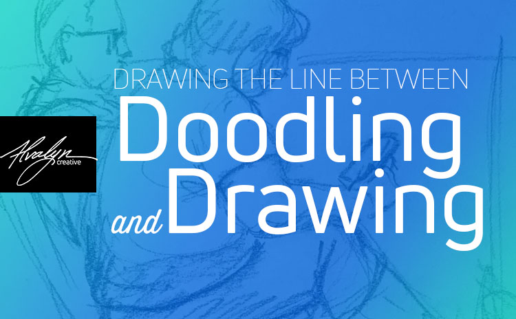 The Line Between Doodling and Drawing
