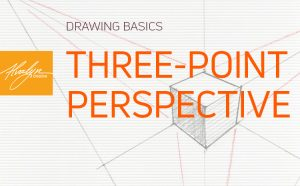 How To Draw Three-Point Perspective