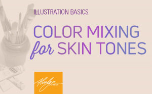 Color Mixing for Skin Tones