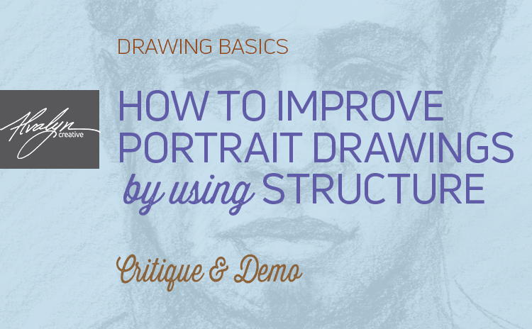 Tips To Improve Portrait Drawing Using Structure
