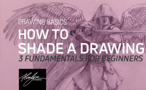 How To Shade a Drawing: 3 Fundamentals for Beginners by Alvalyn Lundgren