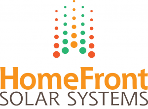 Home Front Solar Systems brand identity by Alvalyn Lundgren